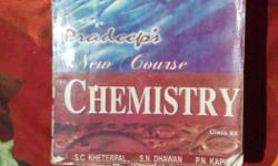Class 12 chemistry book of pradeep in new condition.