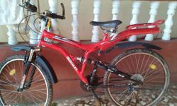 2 year old gear bicycle in good condition.All gears