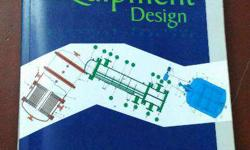 Process Equipment Design by Joshi . 4th edition. Like a