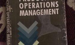 Production Operations Management Book