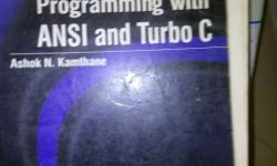 Programming With Ansi And Turbo C Book