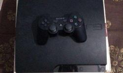 ps3 160gb 3month old brand new condition