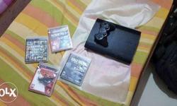 ps3 under warranty with box and all original accesories