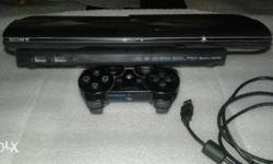 ps3 500 gb 25 games load 1 cotrol 1 cable brand new
