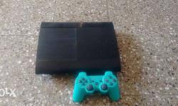 ps3 500 gb and 4 games