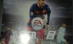 PS3 FIFA 16 GAME. Not scratched a bit. as good as new.