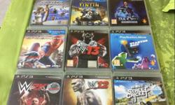 PS3 Game Case Lot