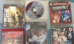 ps3 games 9 blurays� Tekken Infamous Fifa 13 Pes 14