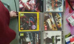 Seven Assorted PS3 Games Collection, 7games original