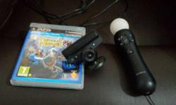ps3 move motion controller & eye camera + medieval