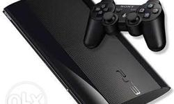Ps3 super slim, for sale in Chennai, low price, very