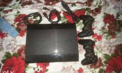 PS3 super slim 500gb in mint condition along with 2