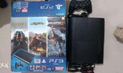 PS3 superslim model Just 1 year old with box and 8