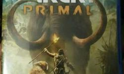 PS4 Forcry PRIMAL in brand new condition 2 week old