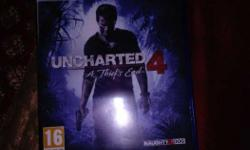 PS4 Game Uncharted 4 Game