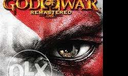 PS4 God Of War Remastered Brand new. Not opened. Price
