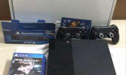 Sony PS4 with 2 remote whole new coz barcode also