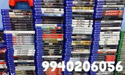 Latest and old Ps4 ps3 and Xbox one games available