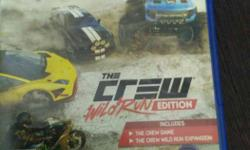PS4 The Crew Wild Run Edition Game Case