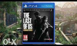 PS4 The Last Of Us Remastered Game Case price