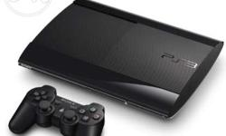 PS 3 500 GB with 5 remotes and 20 Top new games.