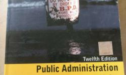 Public Administration And Public Affairs By Nicholas