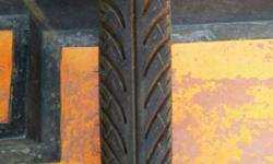 Pulsar front tyre 2.75/17 (birla) used less than 150km.
