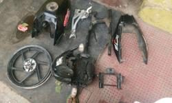 Pulsar parts for sell in good condition.