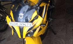 Pulsar RS-200 ABS Yellow(2015-August MODEL) with