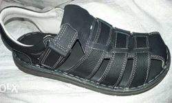 pure leather sandals for men