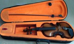 Quarter size violin six month used