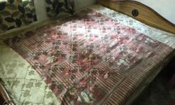 Queen Size Bed with Matress for Sale