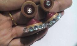 Small size jhumka Colors will be provided as the