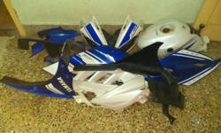 R15 racing blue limited edition full fairing set with