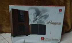 Raaga Full Wood Speakers New i ball brand