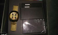 RADO watch original swiss With bill purchased in soudi