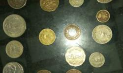rare and antique coins both sides are of coins in both