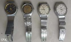 Rare collection of HMT Winding Watches in excellent