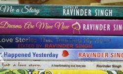 Ravinder singh books collection