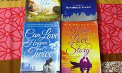 1. I too had a love story - Ravinder Singh 2. Can love