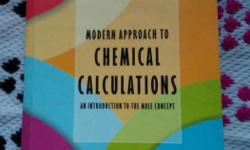 Chemical Calculations Book