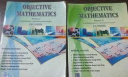 RD sharma Objective. Volume 1 + Volume 2 2016 revised