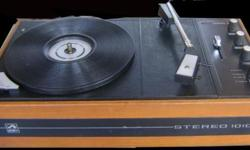 reasonable record player of 33rpm & 78 rpm