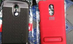 Red And Black Smartphone Cases