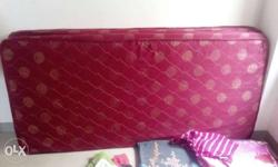Red and golden superb floral mattresses available in a
