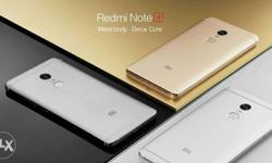 Redmi Note 4 ( 4+64 ) GB Black / Gold colour Available