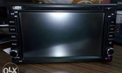 Refulgent palatial double din DVD player at just Rs