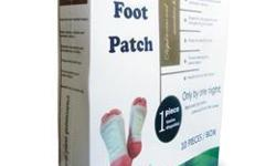 DETOXIFY your body with RELAX FOOT PATCH (Removes