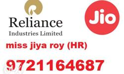 Fresher and Exp Male Candidate Recruitment In Reliance