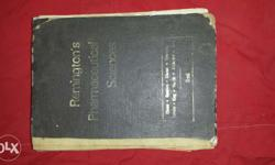 Remington book for pharmacy student.
